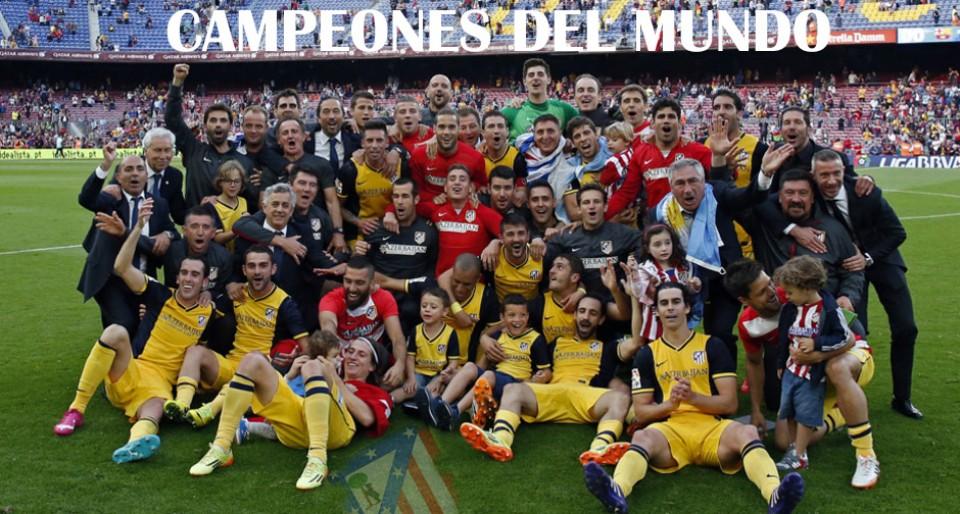 Aupa Atlético de Madrid